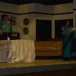 Ballari assists Pramita Mallick's programme in Preston by introducing each song November 2004
