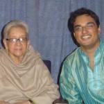 Rishi meeting the legendary Suchitra Mitra in Kolkata