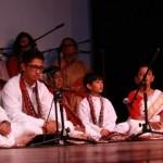Moksha Youth choir making their inaugural recital on 9th September 2012!