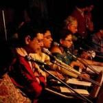 Rishi singing 'Tumi Ki Keboli Chhobi' at Rabindra Sadan, Kolkata